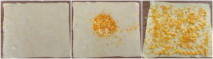GIRANDOLE DI CARNEVALE con limone e arancia