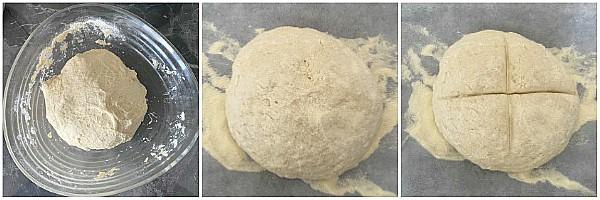 Pane veloce di semola ricetta ad alta idratazione senza impasto