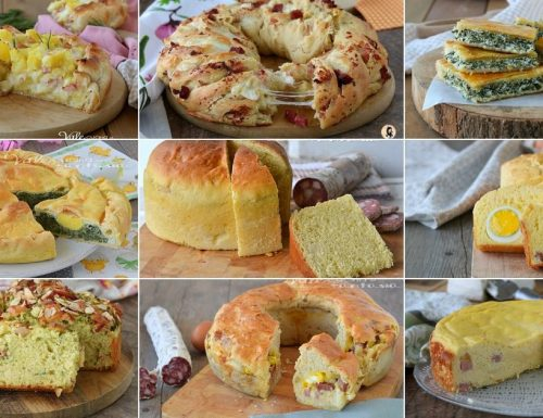 TORTE SALATE per Pasqua e Pasquetta