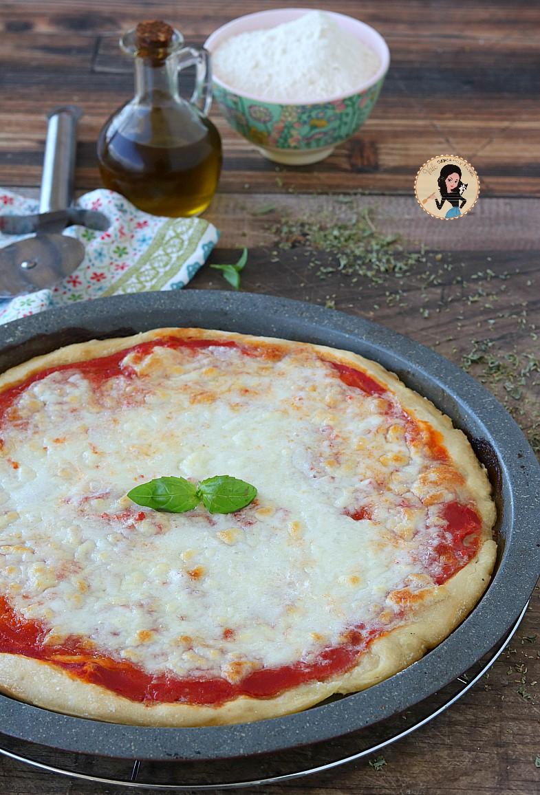 Pizza con lievito madre a lunga lievitazione