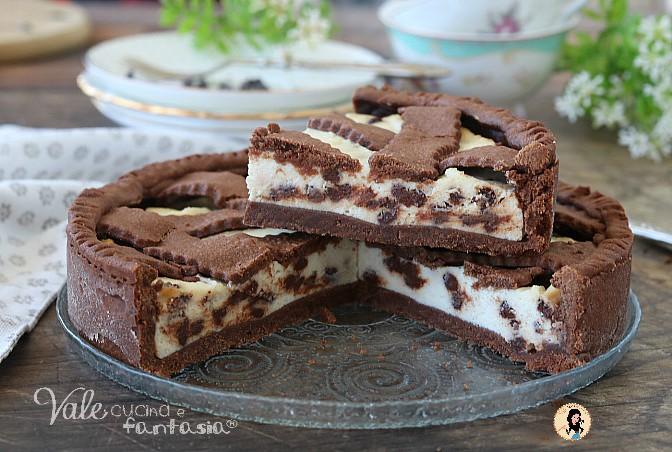 CROSTATA AL CACAO con ricotta e cioccolato ricetta facile