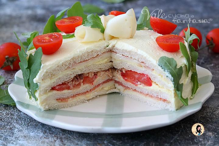 Torta tramezzino o Torta Sandwich