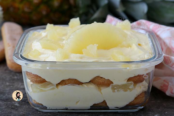 Ricetta Tiramisu Ananas Senza Uova.Tiramisu Con Ananas Ricetta Senza Uova Crude Nella Crema