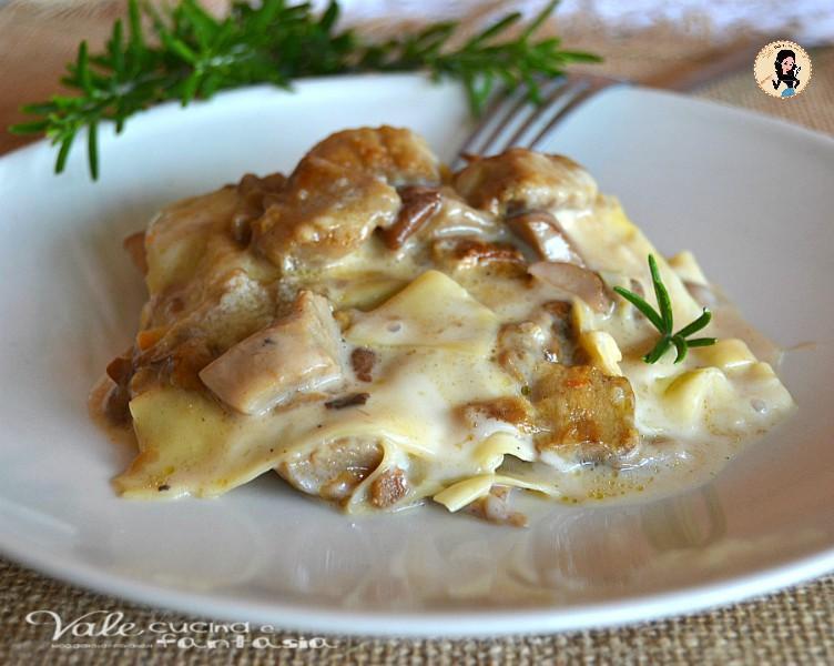 Ricetta Lasagne Ai Funghi.Lasagne Ai Funghi Porcini Ricetta Primo Piatto Facile
