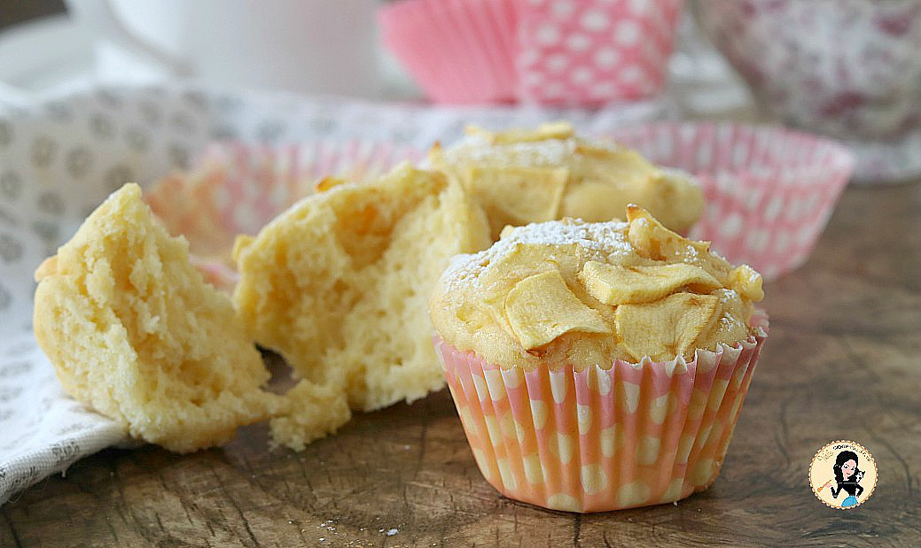 Ricetta Muffin Velocissimi.Muffin Alle Mele Dolcetti Velocissimi E Morbidissimi