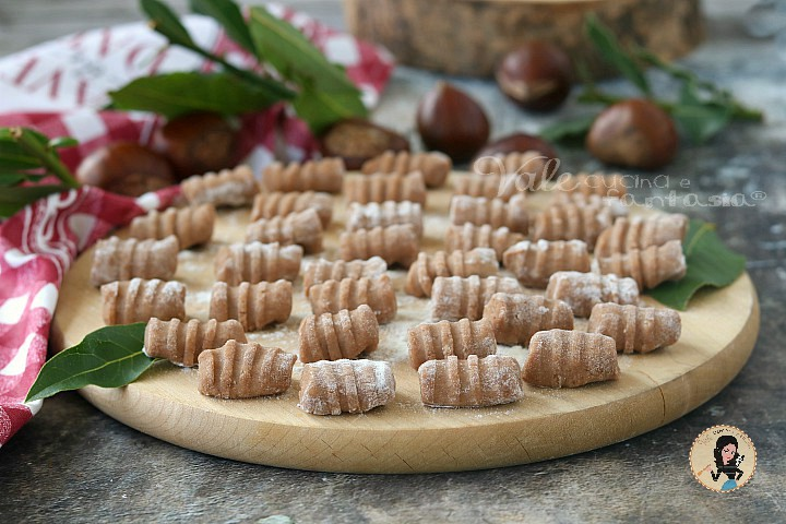 Ricetta Gnocchi Patate E Farina Di Castagne.Gnocchi Di Castagne Senza Patate Come Farli In Casa
