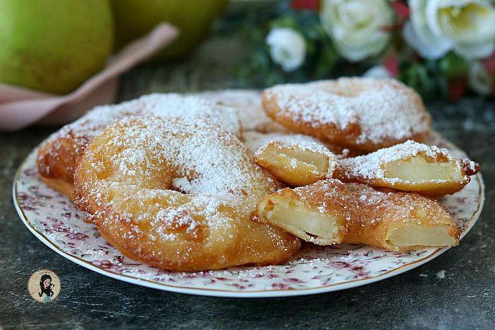 FRITTELLE DI MELE frittelle di mele della nonna facili