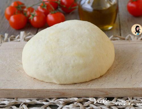 PASTA PER PIZZA ricetta base perfetta