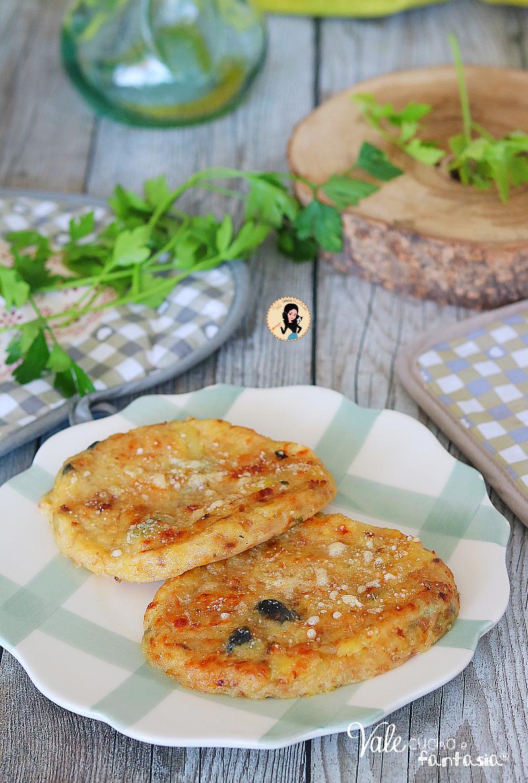 COTOLETTE DI PATATE E TONNO al forno ricetta facile