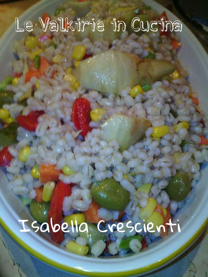 Insalata di Orzo Perlato di Isabella Crescienti