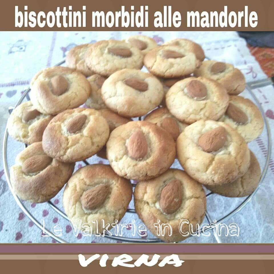 Biscottini morbidi alle Mandorle di Virna Maffeis