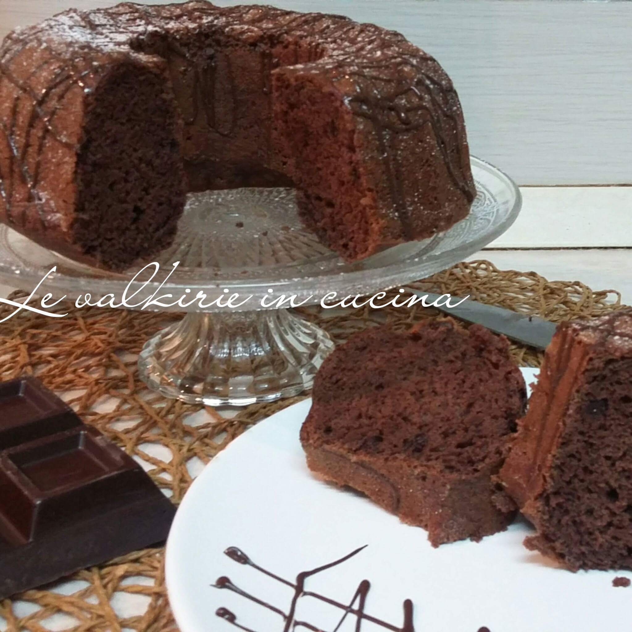 Torta Nuvola al Cacao con solo Albumi