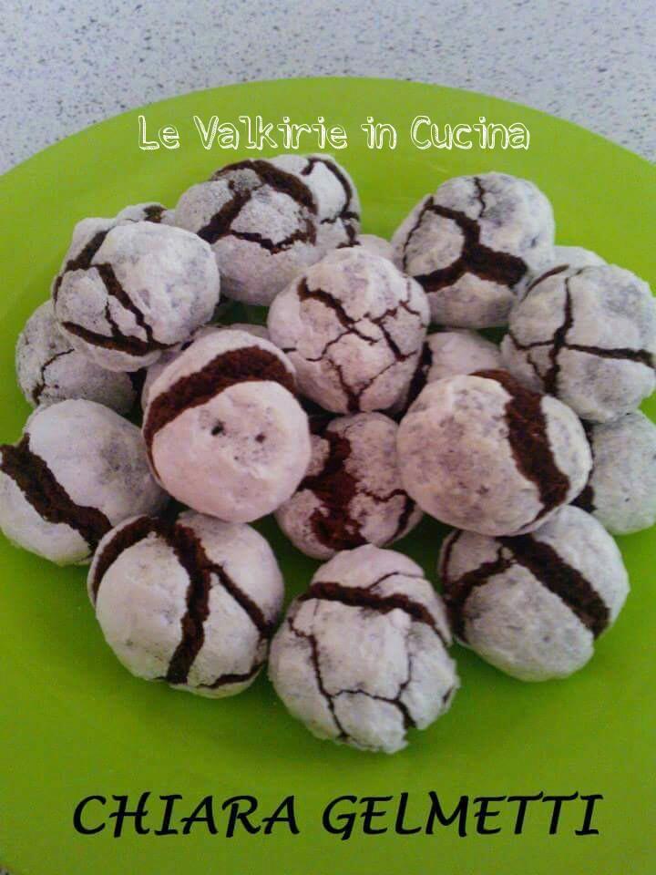 Biscotti al Cioccolato Fondente di Chiara Gelmetti