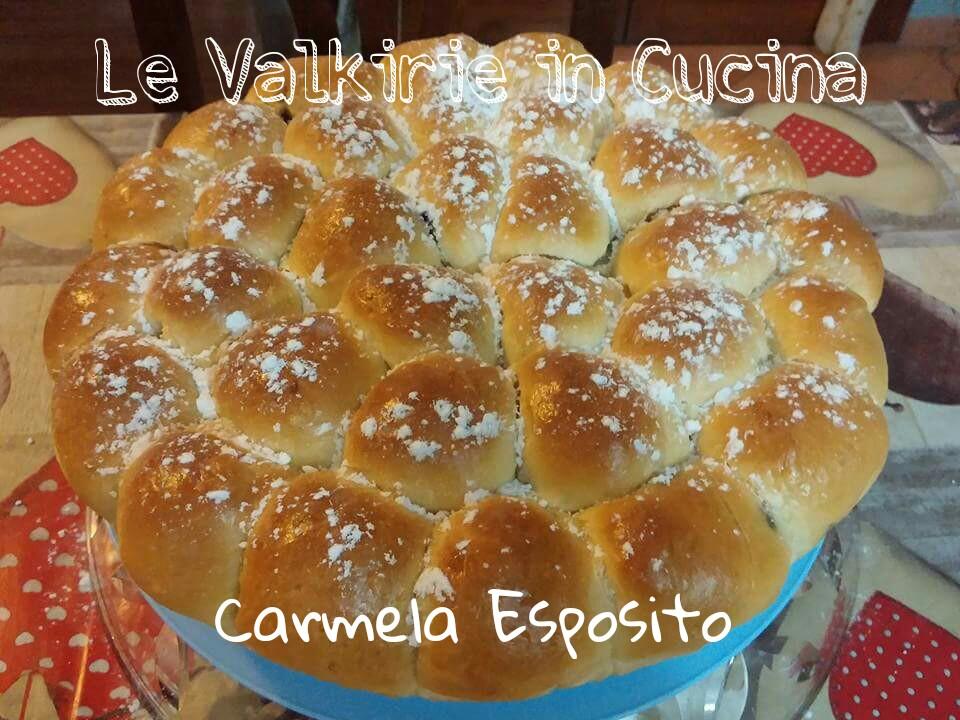 Danubio dolce con nutella di Carmela Esposito