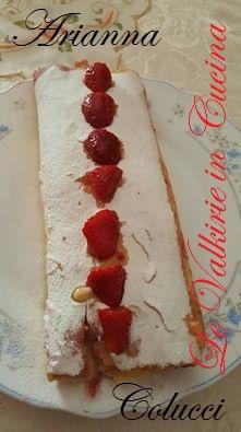 Rotolo con crema pasticcera e fragole di Arianna Colucci