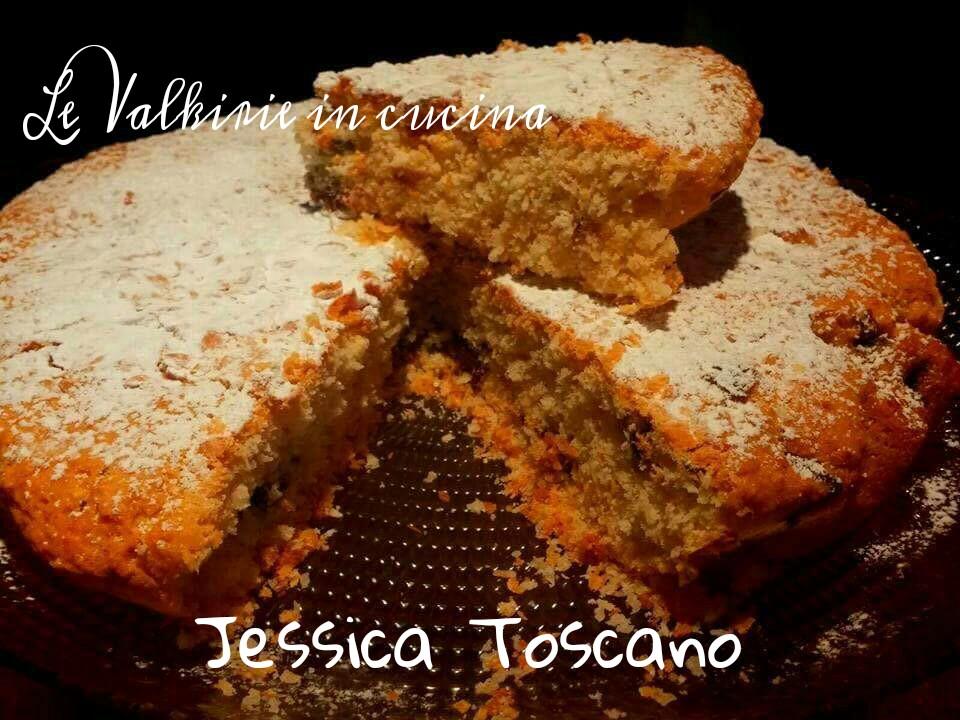 Torta cocco e cioccolato senza uova di Jessica Toscano