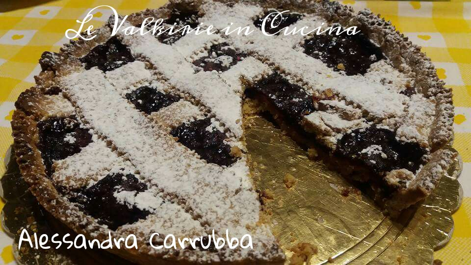 Crostata integrale con marmellata ai frutti di bosco di Alessandra Carruba