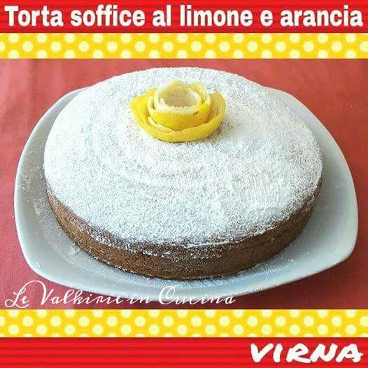 Torta soffice al limone senza latte senza burro di Virna Maffeis