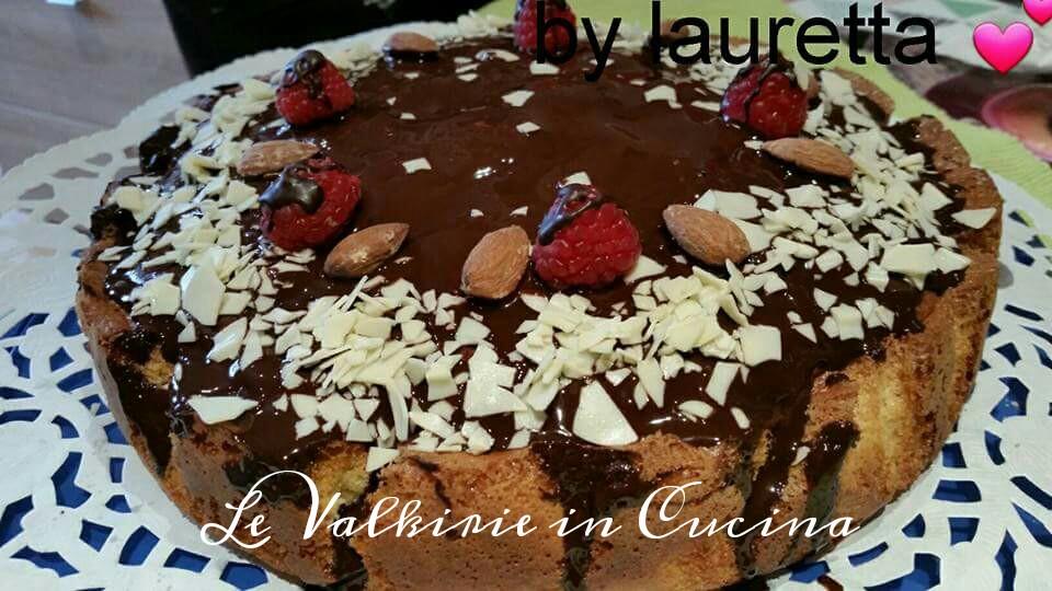 Torta Nua con crema alle nocciole e cioccolato di Lauretta Lallina Randazzo