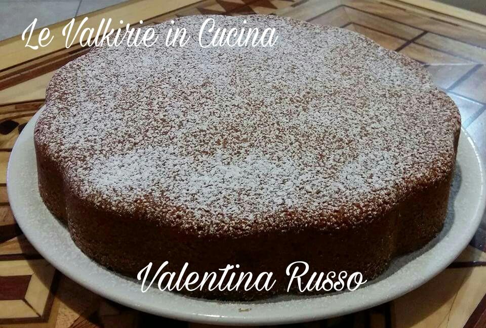 Torta di arancia, mandorle e carote di Valentina Russo