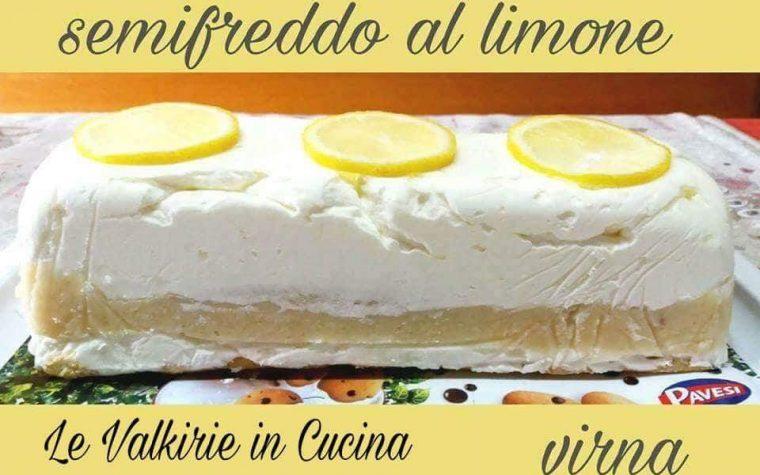 Semifreddo al limone di Virna Maffeis