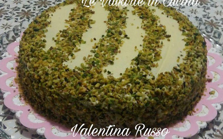 Torta al pistacchio e cioccolato bianco di Valentina Russo