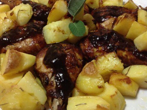 Pollo barbecue