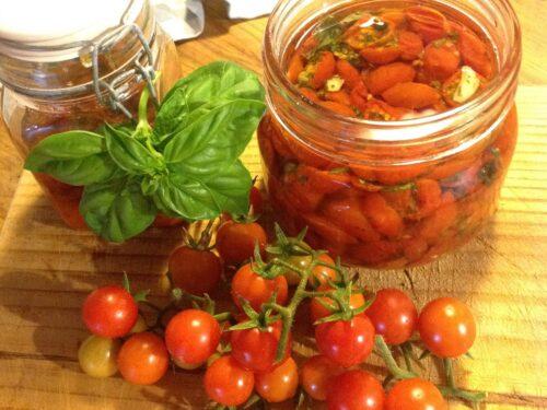 Pomodorini sott'olio