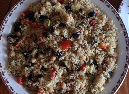 Couscous aromatico con verdure