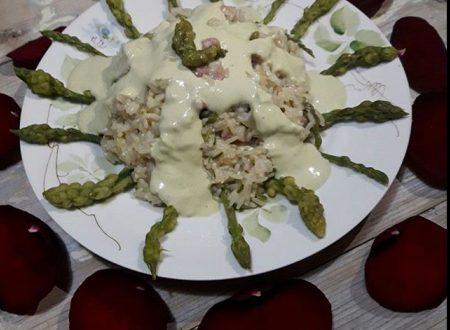 Risotto alla crema di asparagi selvatici
