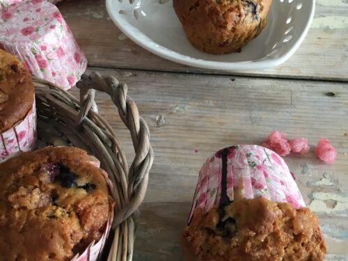 Muffins ai lamponi