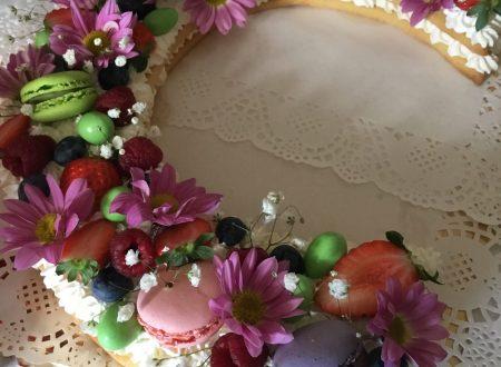 Cream Tart o Alphabet cake