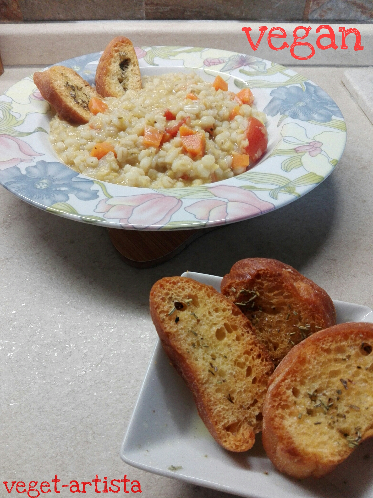 Orzo e lenticchie rosse