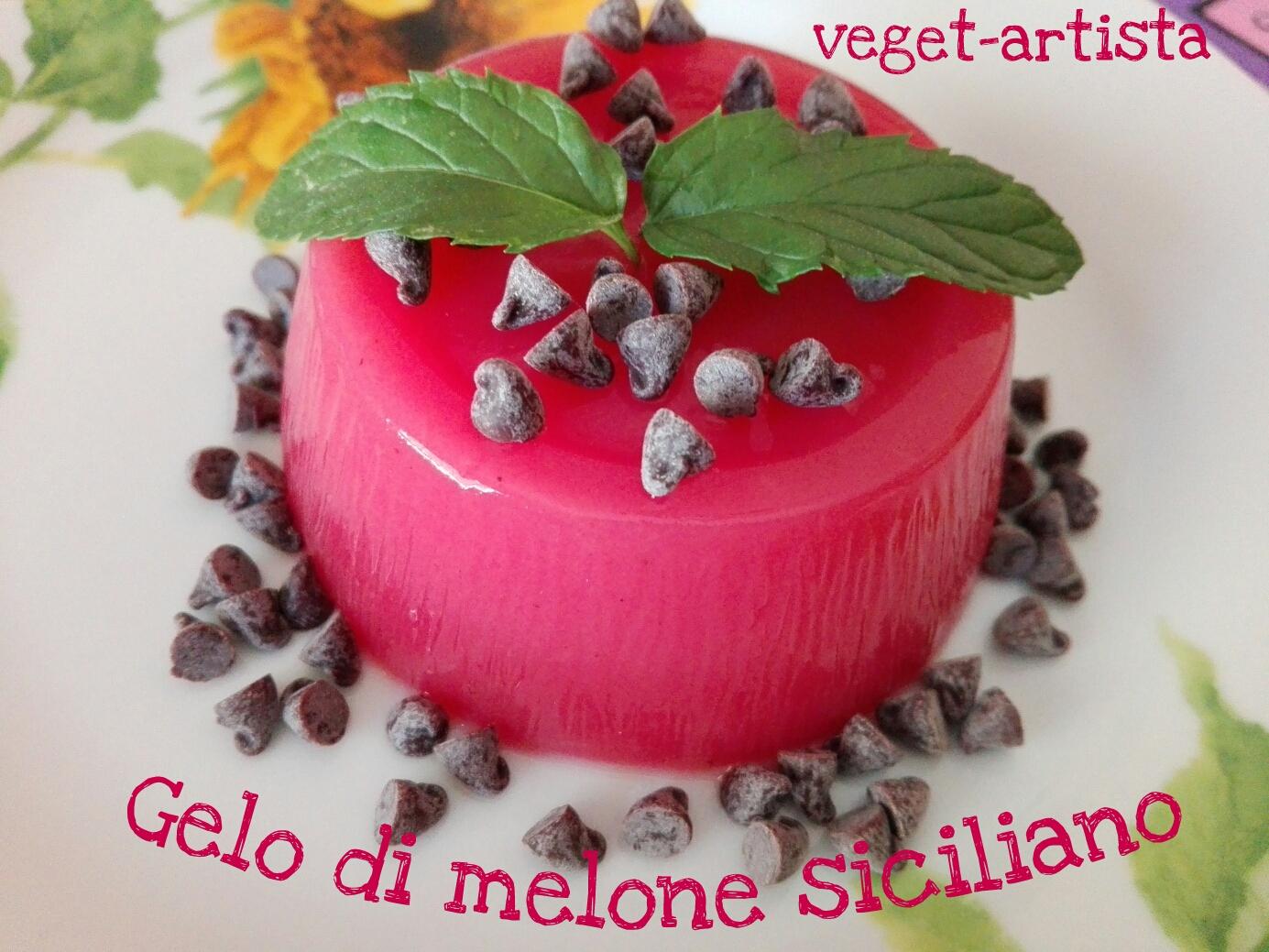 Gelo di melone siciliano