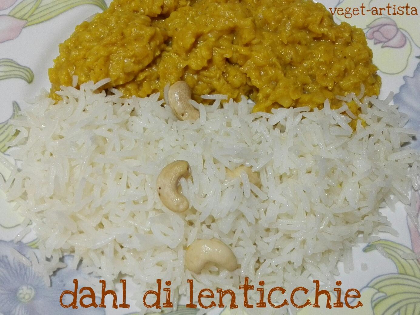 Dahl di lenticchie indiano