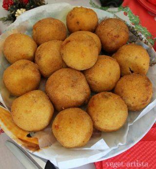 Arancine veg & veggie (sicilian rice balls)