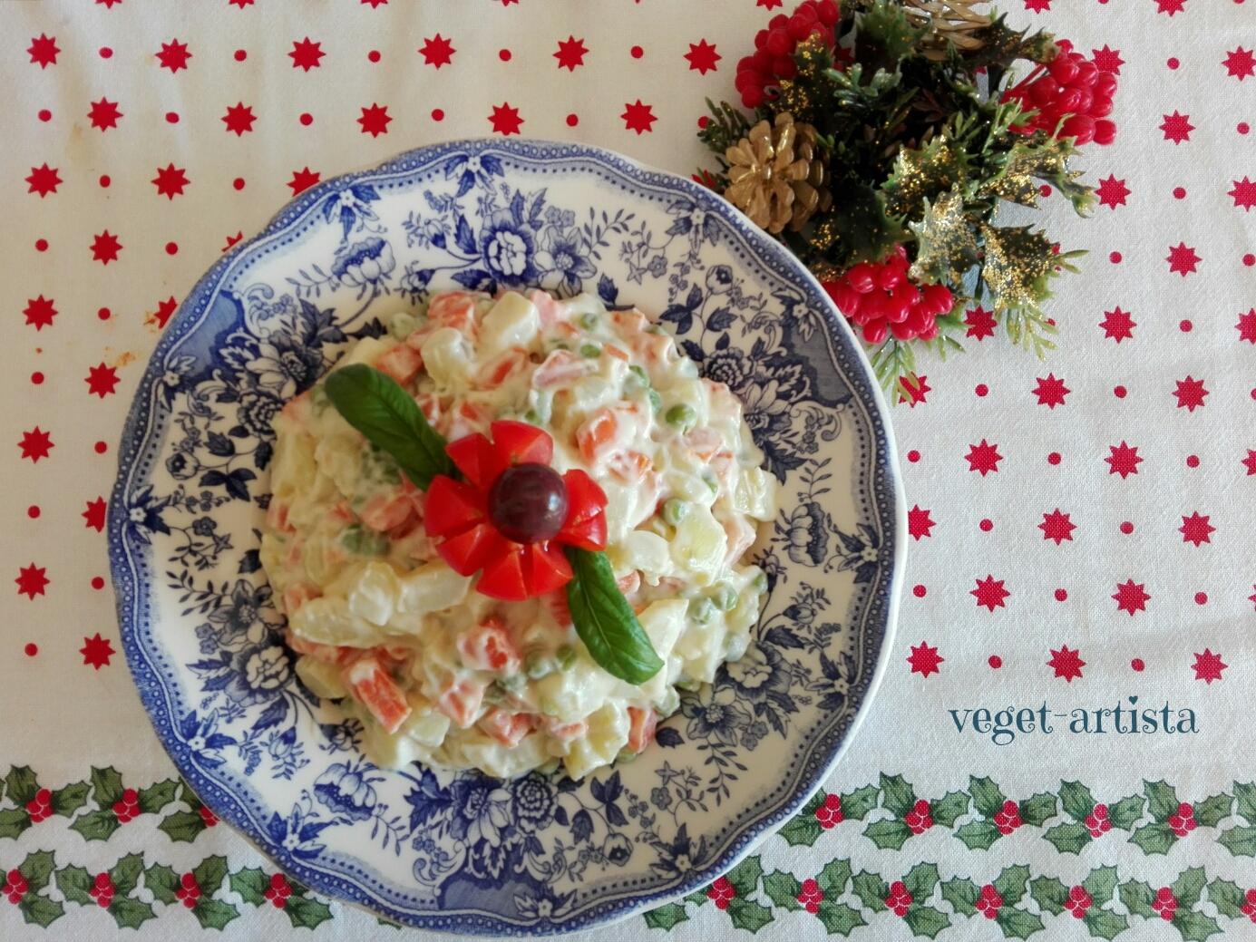 Insalata Russa Vegan (Russian Salad)