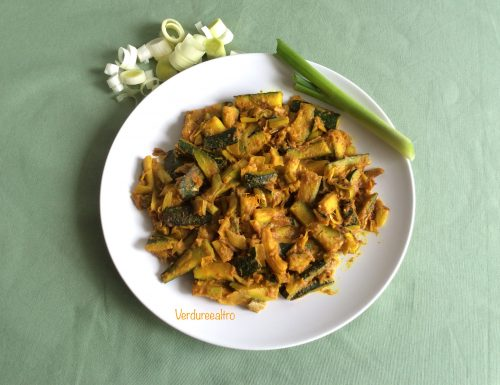 Zucchine gustose al Curry – Verdureealtro