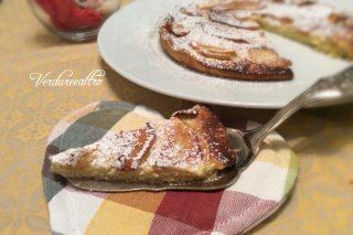 Crostata croccante con mele