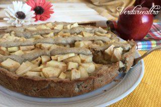 Crostata di grano saraceno con mele
