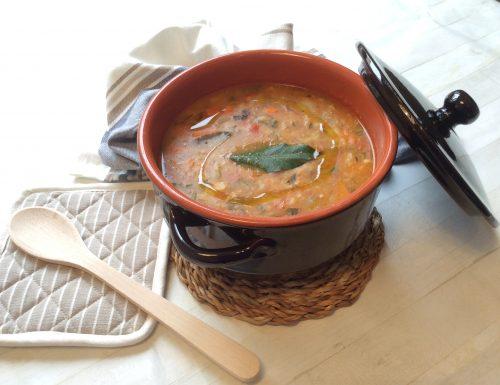 Zuppa di Verdure con Pane (Svuotafrigo)
