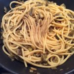 Pasta Carbonara con Carciofi