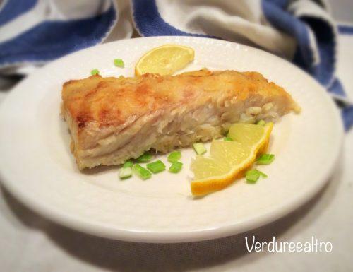 Filetto di Pesce Persico al Limone