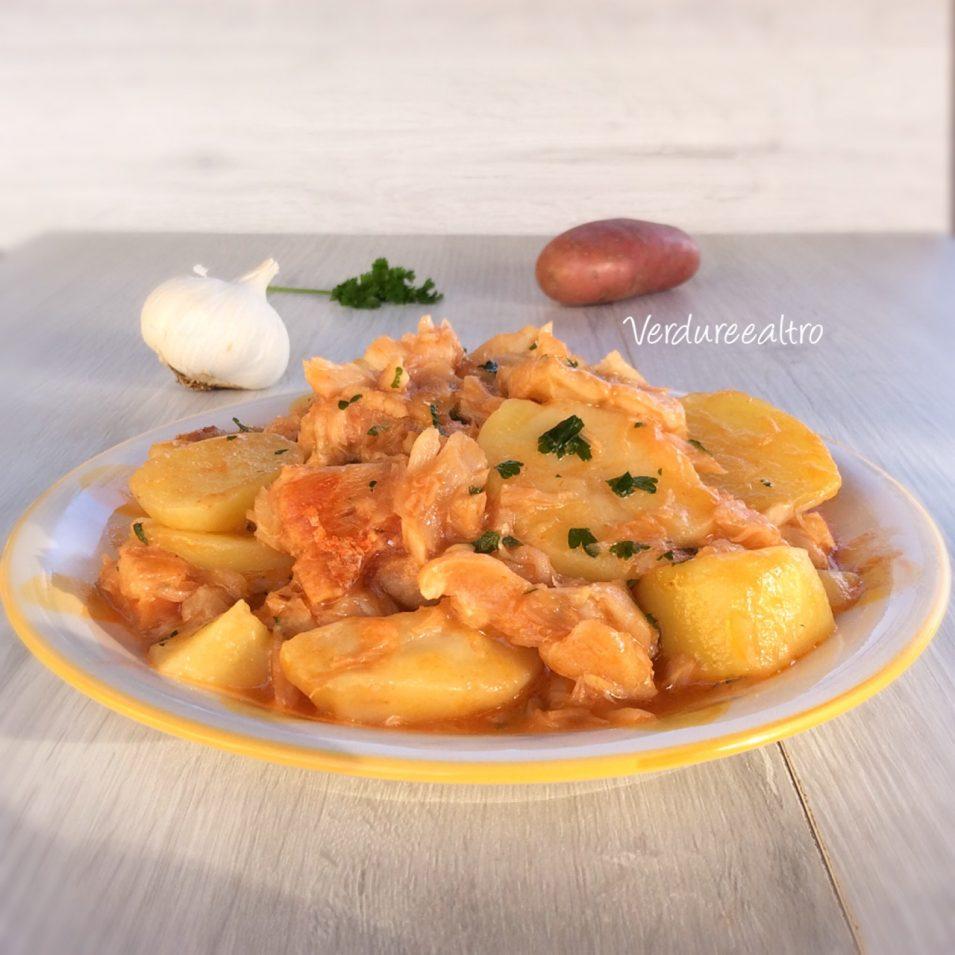 Stoccafisso con patate in padella
