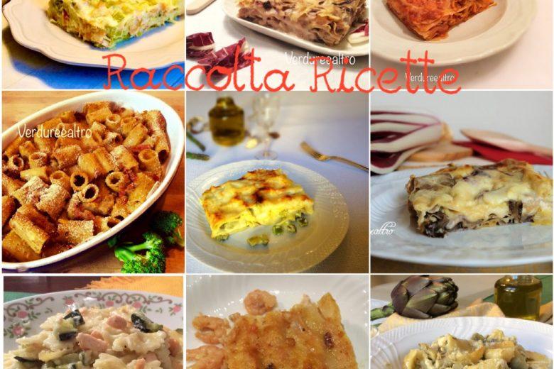 Raccolta Ricette per Lasagne e Pasta al Forno