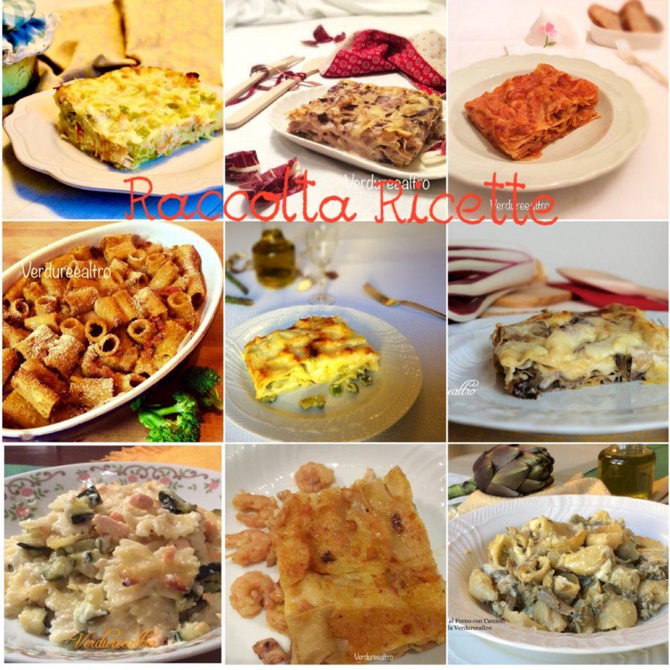 Raccolta Ricette lasagne e pasta al Forno