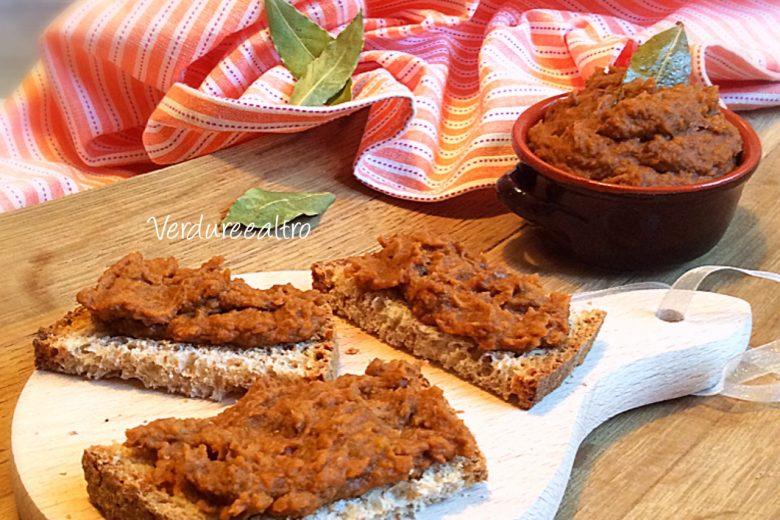 Paté di Lenticchie e Acciughe per Crostini
