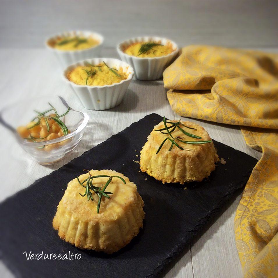 Tortini Salati diCeci e Rosmarino