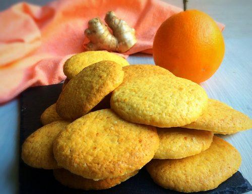 Biscotti All'Arancia e Zenzero – Senza Uova
