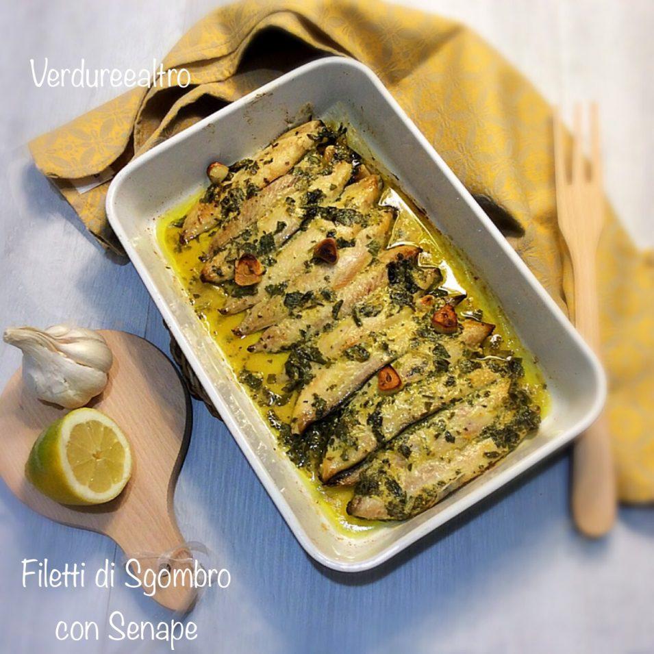 Filetti di Sgombro al Forno con senape